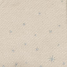 Coated Cotton with Christmas Silver Star