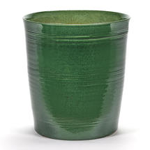 Rich Green Glazed Pot