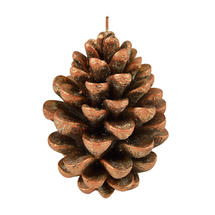 Copper Pine Cone Candle