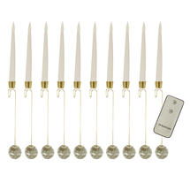 Magic Candle Tree Lights - Pack of 10 with Remote