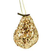 Gold Glitter Pear