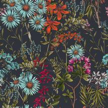 Wallpaper Summerish Charcoal