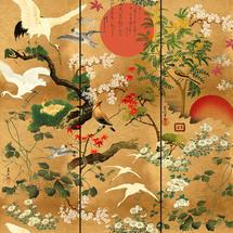 Wallpaper Byobu