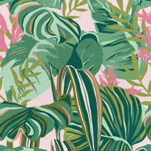 Wallpaper Tropical Foliage