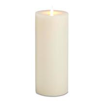 Ivory LED Church Candle
