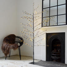 Black Birch 220 LED Twig Tree