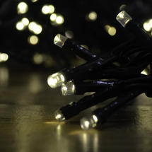 Multi Function USB String Lights - 720 Warm White LED
