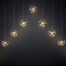 Starburst Sparkler 540 LED String Lights - Curtain