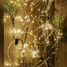 Starburst Sparkler 600 LED String Lights - Medium