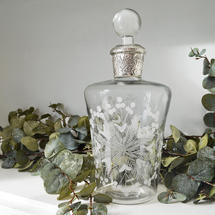 Edwardian Style Glass Decanter