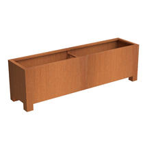 Squared Footed Planter  200 x 500x 60