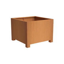 Squared Footed Planter  120 x 120 x 80