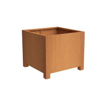 Squared Footed Planter  100 x 100 x 80