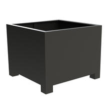 Square Aluminum Footed Planter 120 x 120 x 80