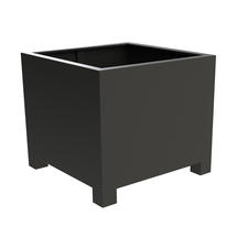 Square Aluminum Footed Planter 100 x 100 x 80