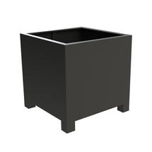 Square Aluminum Footed Planter 80 x 80 x 80