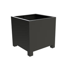 Square Aluminum Footed Planter 60 x 60 x 60