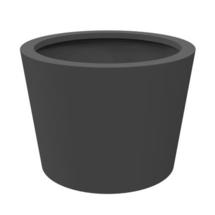 Cone Planter in Aluminum Ø100 x 80