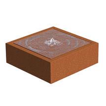 CorTen Square Watertable 120 x 1200x 40