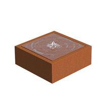 CorTen Square Watertable 800x 80 x 40