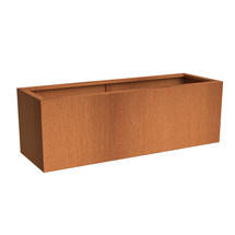 Rectangular CorTen Planter200 x 50 x 60
