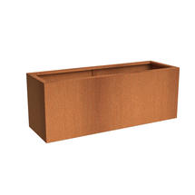 Rectangular CorTen Planter 150 x 50 x 60