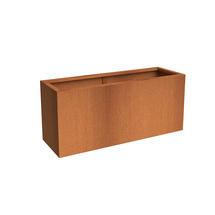 Rectangular CorTen Planter 120 x 50 x 60