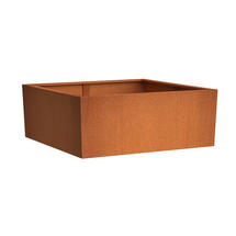 Rectangular CorTen Planter 90 x 30 x 80