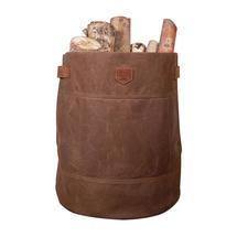Waxed Canvas Storage Bag - Havana