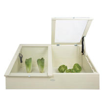 Wooden Cold Frame - Cream