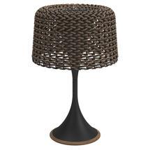 Ambient Mesh Solar Table Lamp - Meteor / Carob