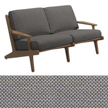 Bay 2 Seater Sofa - Granite Sling / Granite Cushions