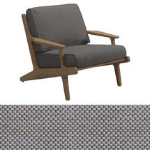 Bay Lounge Chair - Granite Sling/Granite