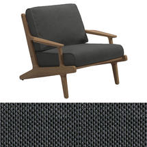Bay Lounge Chair - Anthracite Sling/Blend Coal