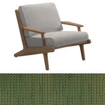 Bay Lounge Chair - Leaf Sling/Blend Linen