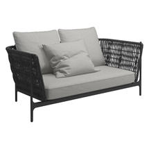 Grand Weave Sofa Meteor / Shadow - Seagull