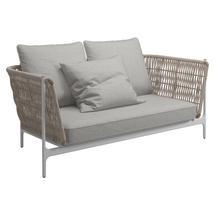 Grand Weave Sofa White / Almond - Seagull