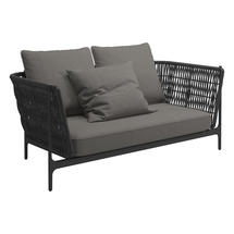 Grand Weave Sofa Meteor / Shadow - Fife Rainy Grey