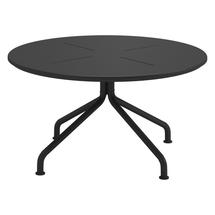 Curve Round Coffee Table - Meteor