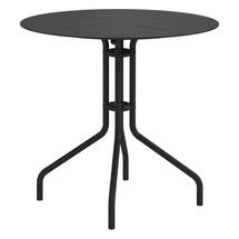 Curve 80cm Round Pedestal Dining Table - Meteor
