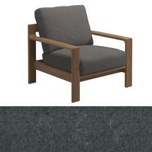 Loop Lounge Chair  Charcoal Strap - Granite