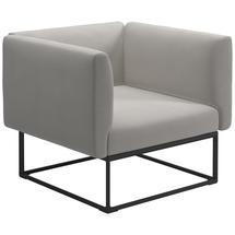 Maya Lounge Chair 97x86 Meteor - Blend Linen