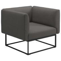 Maya Lounge Chair 97x86 Meteor - Granite