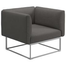 Maya Lounge Chair 97x86 White - Granite