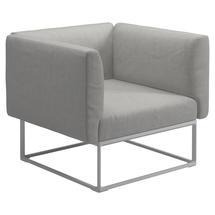 Maya Lounge Chair 97x86 White - Seagull