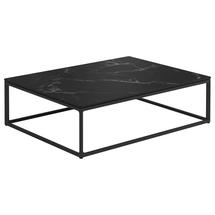 Maya Coffee Table 75 x 100 Nero Ceramic - Meteor