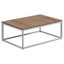 Maya Coffee Table 75 x 50 Teak - White