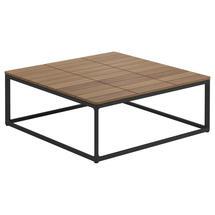 Maya Coffee Table 75 x 75 Teak - Meteor