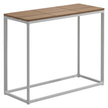 Maya Low Console Table 75 x 30 Teak - White