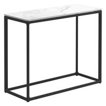 Maya Low Console Table 75 x 30 Bianco Ceramic - Meteor